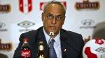 Burga estaría implicado en corrupción en FIFA, según Abugattás - Noticias de twitter