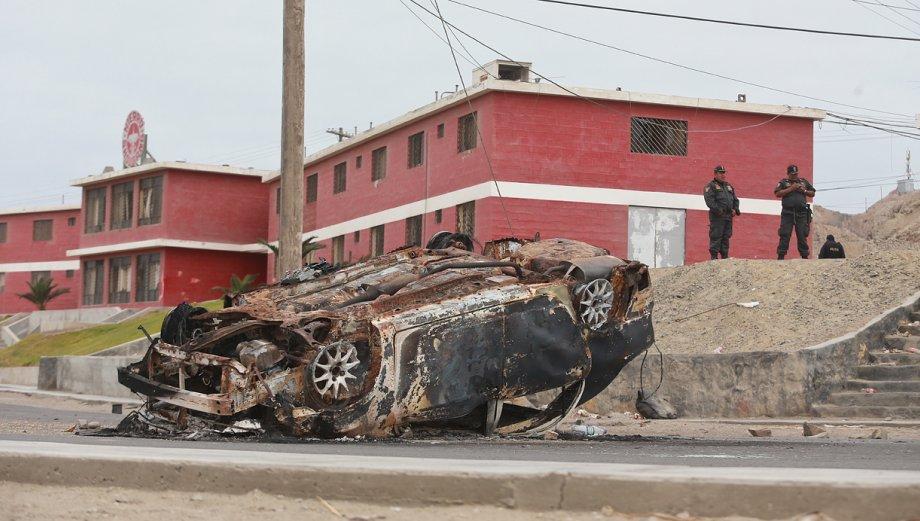 Protestas contra Shougang en Marcona dejan estos daños [FOTOS]
