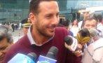 Claudio Pizarro llegó a Lima para integrarse a la selección