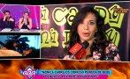 Mónica Cabrejos y su altercado en vivo con 'Peluchín' (VIDEO)
