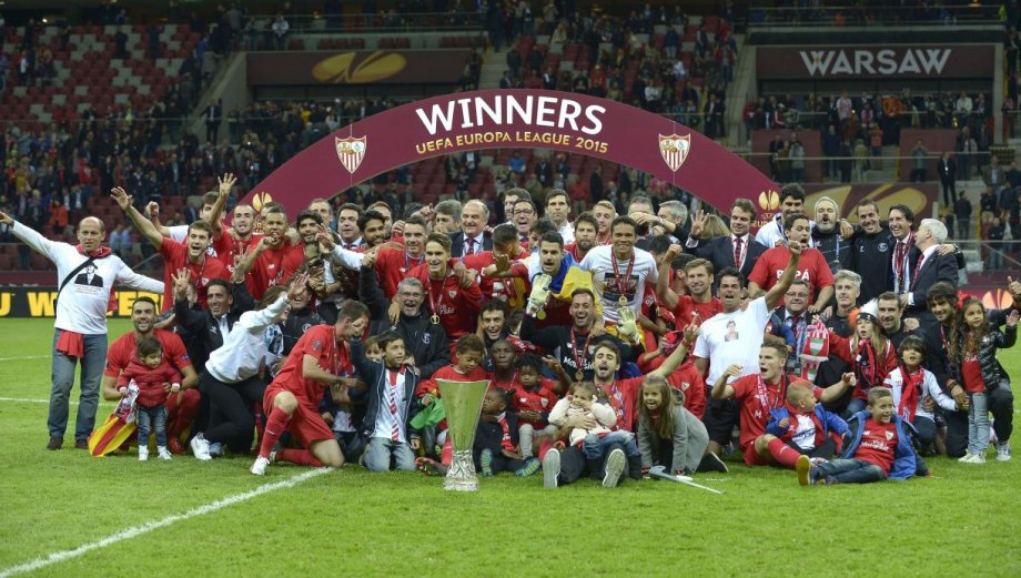 Sevilla campeón: así celebraron su título de Europa League