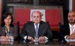 Cateriano descartó salida de ministros por Caso Belaunde Lossio