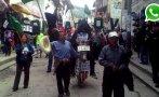 WhatsApp: así se acató paro macroregional en Cajamarca [FOTOS]