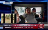 Caso Oropeza: 'Drácula' sigue bajo custodia en hospital Carrión