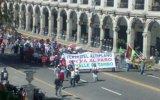 Protesta contra Tía María se concentra en plaza de Arequipa
