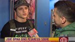 Gino Pesaressi y Korina Rivadeneyra tuvieron reencuentro en EEG - Noticias de el gran show