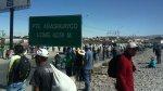 Paro contra Tía María: el panorama en diversas regiones [FOTOS] - Noticias de utc de cajamarca