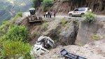 Áncash: caída de camión deja un muerto y dos heridos - Noticias de placas de rodaje