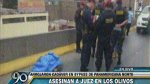 Los Olivos: juez hallado sin vida habría muerto por balazo - Noticias de policía de tránsito