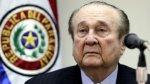 """Nicolás Leoz """"indignado"""" por escándalo de corrupción en la FIFA - Noticias de yo soy 2013"""