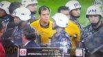 Policía tuvo que proteger a árbitros peruanos en Brasil - Noticias de johnny bossio