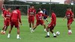 Selección: Gareca y Ñol realizaron trabajos en defensa y ataque - Noticias de carlos zambrano