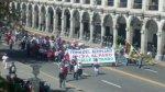 Protesta contra Tía María se concentra en plaza de Arequipa - Noticias de carnavales de cajamarca