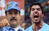 """Maduro llama a Luis Suárez """"el de los dientes afilados"""""""