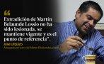 Martín Belaunde Lossio: Principales reacciones tras su captura