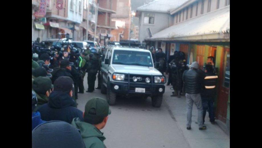 Los últimos momentos de Belaunde Lossio en Bolivia