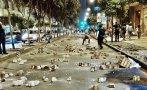 Desmanes en protesta por Tía María en Cercado de Lima [FOTOS]