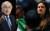 FIFA: Activistas le sacaron tarjeta roja a Blatter [VIDEO]