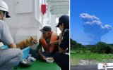 La espectacular erupción del volcán Shindake de Japón [VIDEO]