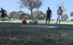 'Footgolf', cuando dos deportes populares se encuentra [VIDEO]