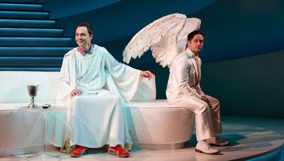Jim Parsons regresó a Broadway convertido en Dios