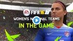 FIFA 16: el fútbol femenino se estrena en el videojuego - Noticias de foto papeletas