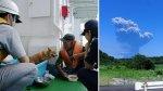 La espectacular erupción del volcán Shindake de Japón [VIDEO] - Noticias de fukushima