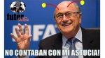 Los memes de la reeleción de Blatter como presidente de la FIFA - Noticias de david ginola