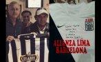 Sotil y Cruyff se encontraron y posaron con camiseta de Alianza
