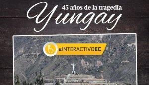 Yungay sobrevive aún al terremoto y alud de hace 45 años