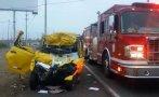 Panamericana Sur: dos muertos en dos accidentes de tránsito