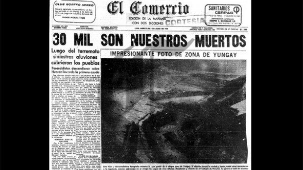 Yungay: a 45 años del peor terremoto de la historia peruana