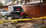 San Borja: una joven murió en choque de auto contra vivienda