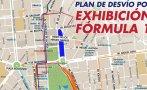Centro de Lima: este domingo cierran calles por exhibición F1