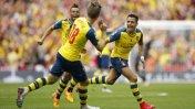 Arsenal goleó 4-0 a Aston Villa y es bicampeón de la FA Cup