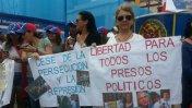 Venezolanos en Lima piden la liberación de Leopoldo López
