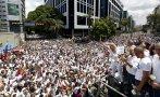 Venezuela: Miles marchan en defensa de opositores encarcelados