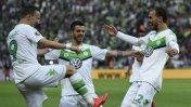 Wolfsburg campeón de Copa Alemana: ganó 3-1 a Borussia Dortmund