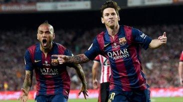Messi: jugada de ensueño y sensacional golazo en Copa del Rey