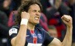 Un gol de Cavani da a PSG la Copa de Francia ante Auxerre (1-0)