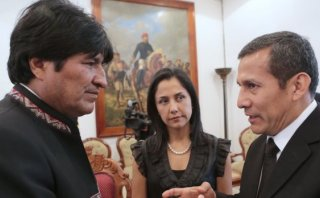 """Humala a Evo: """"Los presidentes no recogemos presos"""""""