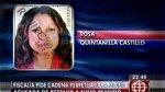 Piden cadena perpetua para mujer que se quedó con niño perdido - Noticias de rosa quintanilla castillo