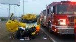 Panamericana Sur: dos muertos en dos accidentes de tránsito - Noticias de accidentes de transito
