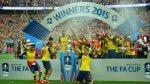 Así festejó el Arsenal de Wenger un nuevo título en la FA Cup - Noticias de wembley