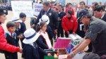 Huancayo: escolares cambiaron juguetes bélicos por educativos - Noticias de ricardo menendez