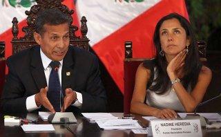 Ollanta Humala acusa a fiscalía de persecución a Nadine Heredia