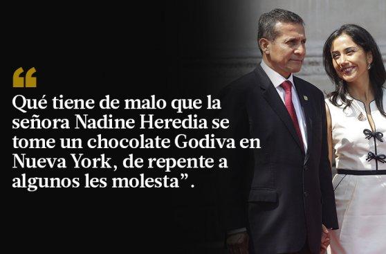 Ollanta Humala y las 10 frases en defensa a Nadine Heredia