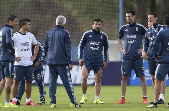 Copa América: Argentina inició prácticas con Agüero y Di María
