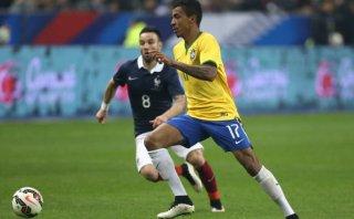 Brasil: Luiz Gustavo se perderá la Copa América por lesión