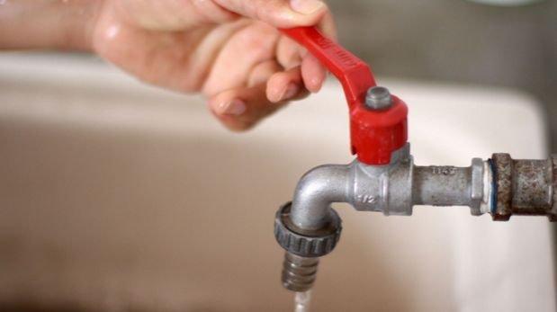 Sedapal: habrá corte de agua en 6 distritos el martes 13